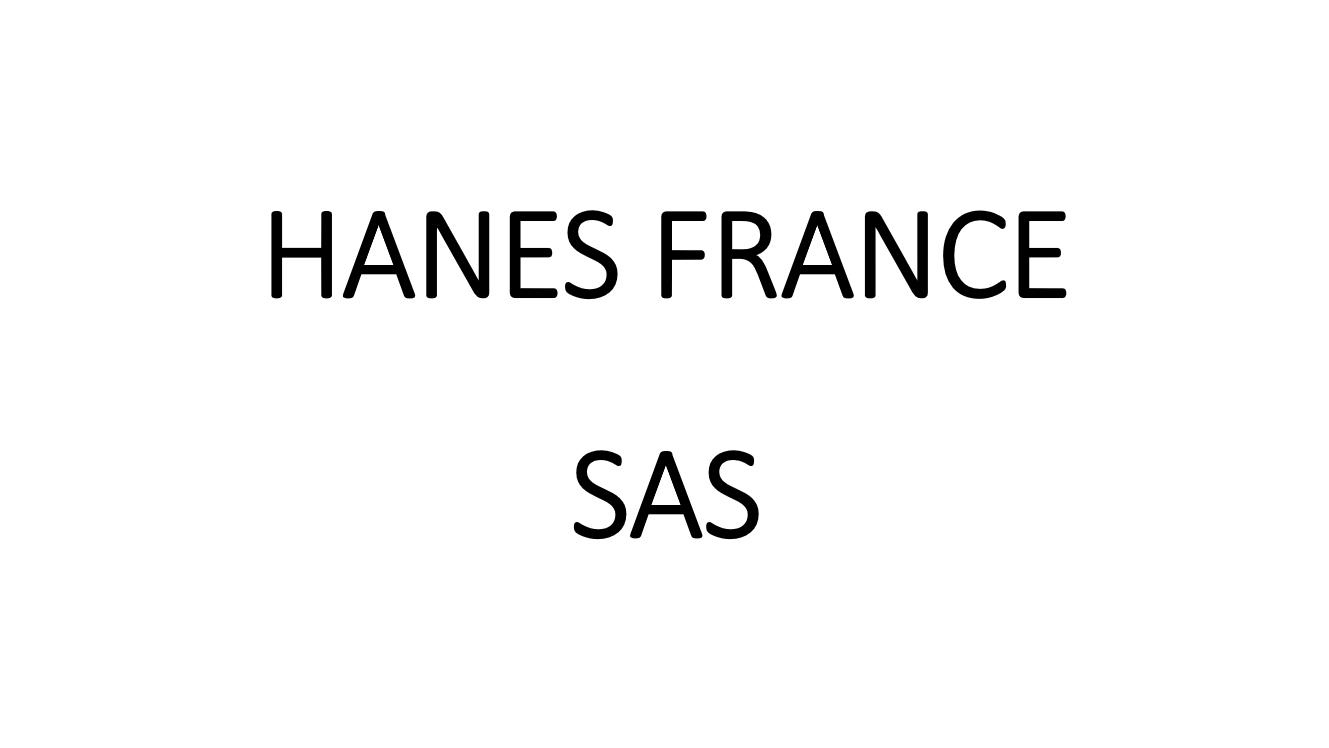 hanes-france-sas